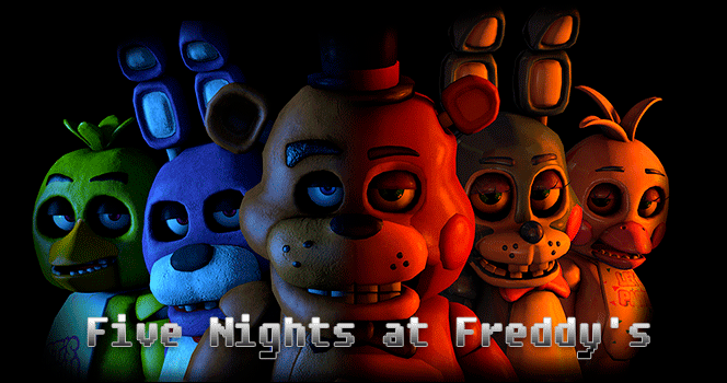 five nights at freddy's jogos